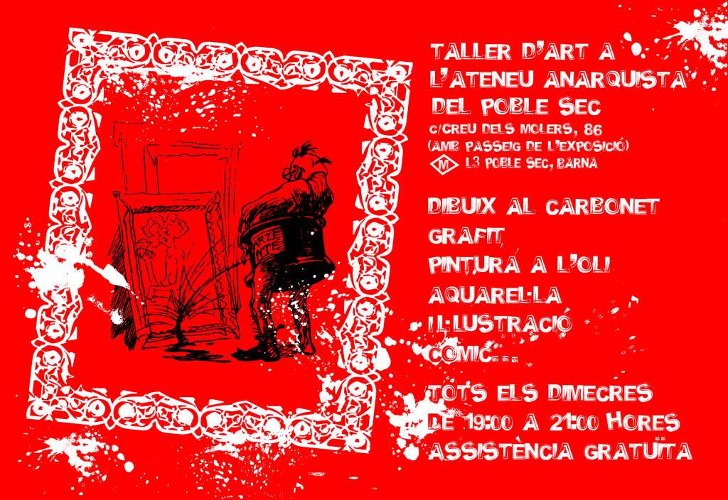 CARTEL TALLER D'ART 2014-2015
